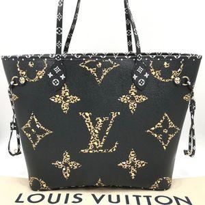 Authentic Louis VuittonJungle Print NeverfullMM